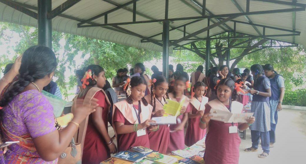 புத்தகக் கண்காட்சி – அரசு பெண்கள் மேல்நிலைப்பள்ளி, ஆவடி