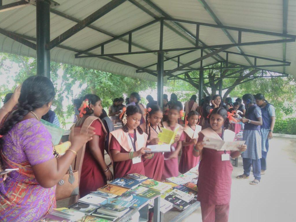 Avadi School Exhibition.