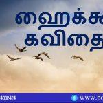 Era Kalaiarasi in Haiku Poems, It Contains Four Poetries. Book Day Website is Branch of Bharathi Puthakalayam.