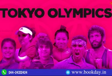 Tokyo Olympics 2021 Tamilnadu Players a Preview article by Lourdu S Raj. Book Day and Bharathi TV are Branches of Bharathi Puthakalayam